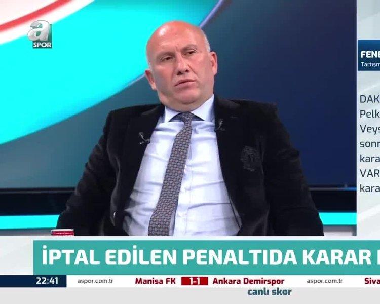 Son dakika spor haberleri: Fenerbahçe-Antalyaspor maçında iptal edilen penaltıda karar doğru mu? ...