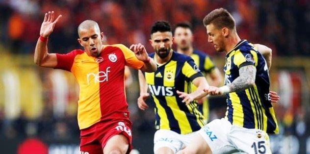 Fenerbahçe - Galatasaray derbisinde şaşırtan üstünlük