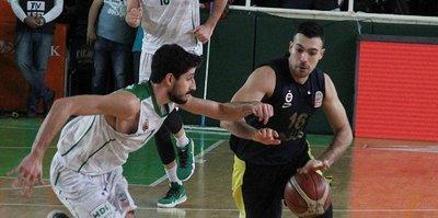 Fenerbahçe Doğuş deplasmanda rahat kazandı