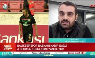 """Canlı yayında duyurdu! """"Trabzonspor ileiki futbolcumuz için daha görüşüyoruz"""""""