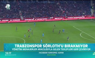 Trabzonspor Sörloth'u bırakmıyor