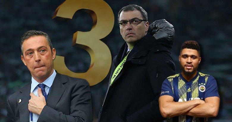 Falette depremi sonrası Fenerbahçe'de zirve! 3 transfer daha...