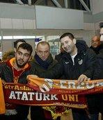 Galatasaray'a Erzurum'da coşkulu karşılama