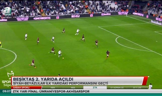 Beşiktaş 2. yarıda açıldı