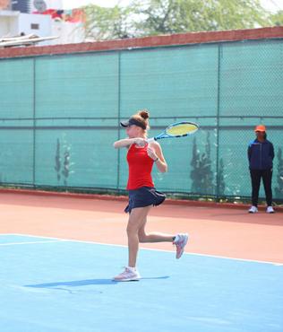 Milli tenisçi Berfu Cengiz, Hindistan'da finalde kaybetti