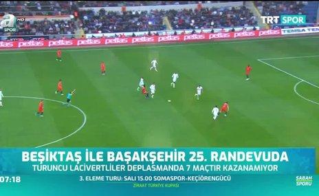Beşiktaş ile Başakşehir 25. randevuda