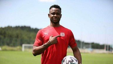 Son dakika spor haberi: Sivasspor'un yeni transferi Leke Samson James: Güzel şeyler yapacağız