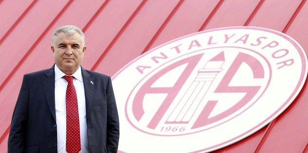 Antalyaspor Başkanı Bulut'tan taraftara çağrı