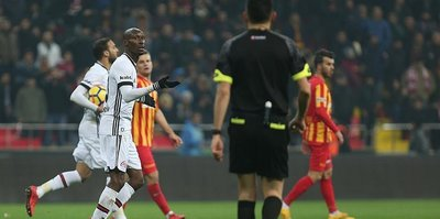 Kayserispor hold Besiktas to 1-1 draw