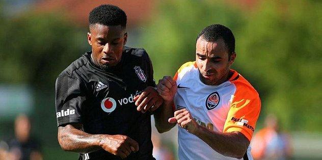 Beşiktaş, Shakhtar Donetsk ile yenişemedi