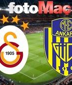 Galatasaray - MKE Ankaragücü   CANLI