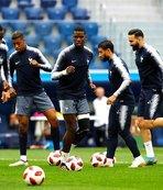 Fransa final hazırlıklarına başladı