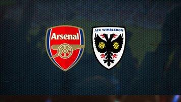 Arsenal AFC Wimbledon maçı ne zaman, saat kaçta?