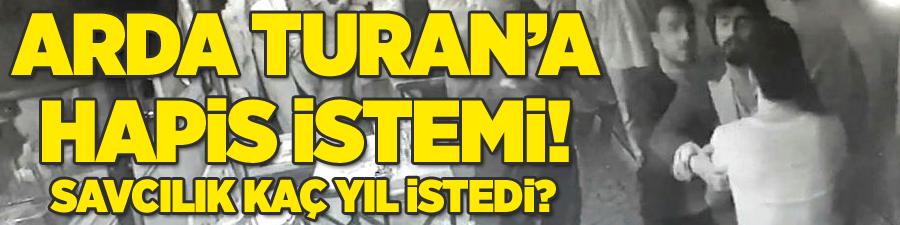 Arda Turan için iddianame hazırlandı: Hapis istemi!
