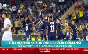 Fenerbahçe'nin sezon öncesi performansı
