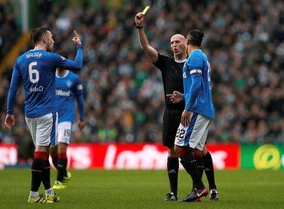 Celtic-Rangers maçında Filistine destek (Maçtan kareler)