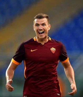 Roma'nın dünyaca ünlü forveti Edin Dzeko Fenerbahçe için İstanbul'da! Son dakika transfer haberleri...