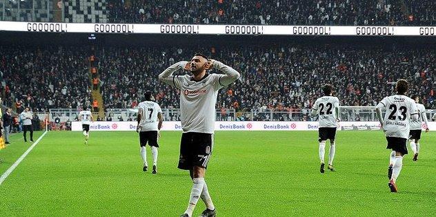 Beşiktaş'a tek gol yetti   Beşiktaş 1-0 Göztepe