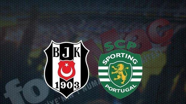 CANLI SKOR   Beşiktaş - Sporting maçı hangi kanalda canlı yayınlanacak? Saat kaçta? Beşiktaş maçı bilet fiyatları ne kadar? Tükendi mi?