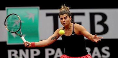 Teniste Türkiye'nin yeni bir numarası Başak