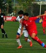 U19 Milli Takımı'mızdan farklı galibiyet!