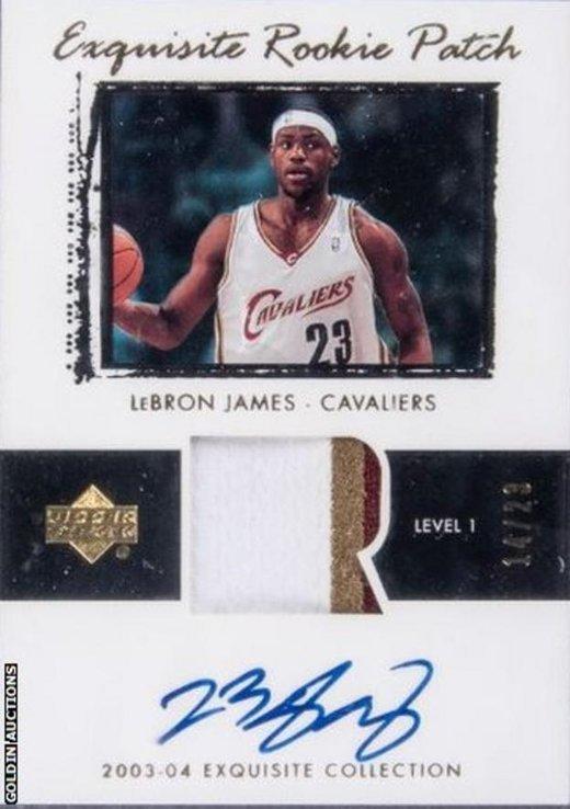 lebron jamesin caylak karti 18 milyon dolara alici buldu 1595258708843 - LeBron James'in çaylak kartı 1.8 milyon dolara satıldı!