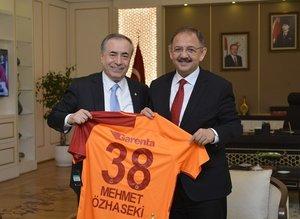 Galatasaray yönetiminden Ankaraya ziyaret