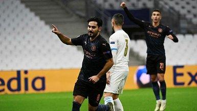 Şampiyonlar Ligi: Marsilya 0-3 Manchester City | MAÇ SONUCU
