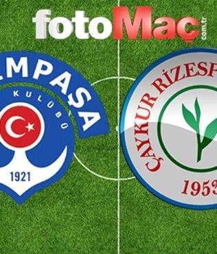Kasımpaşa - Çaykur Rizespor | CANLI