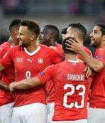 İsviçre, İzlanda'ya gol yağdırdı