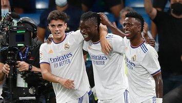 Real Madrid Bernabéu'ya bol gollü döndü