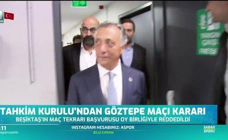 Tahkim Kurulu'ndan Göztepe - Beşiktaş maçı kararı
