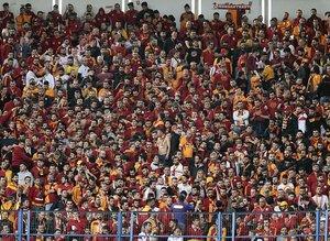 Galatasaray tribünlerinden Afrin'e destek!