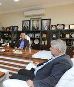 Sakaryaspor'dan, Başkan Dişli'ye ziyaret