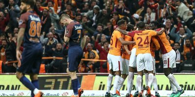 MAÇ SONUCU | Galatasaray 2-0 Başakşehir