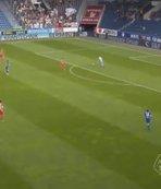 Salih Uçan'ın maçında tuhaf gol!