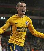Arsenal, 10 kişilik Atletico'yu geçemedi