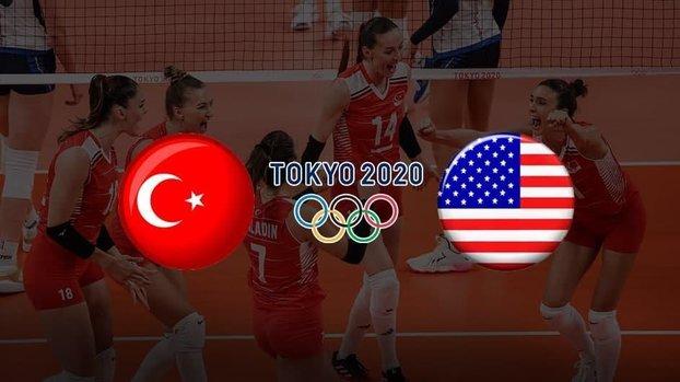 Türkiye ABD voleybol maçı CANLI