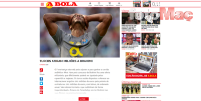 Fenerbahçe'den Brahimi'ye 3 milyon Euro'luk teklif