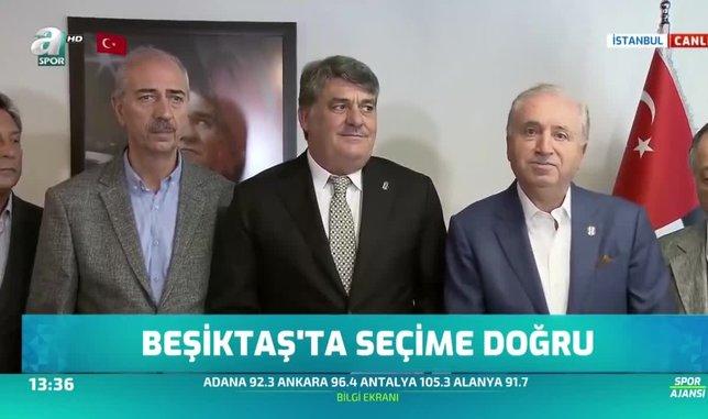 Serdal Adalı resmen Beşiktaş başkanlığına aday oldu! İşte ilk sözleri