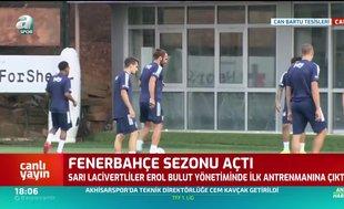 Fenerbahçe'de yeni transferler idmanda!