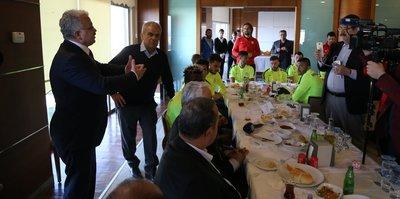 Çaykur Rizespor'da moral yemeği