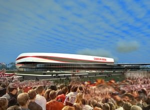 Samsun Arena yükseliyor