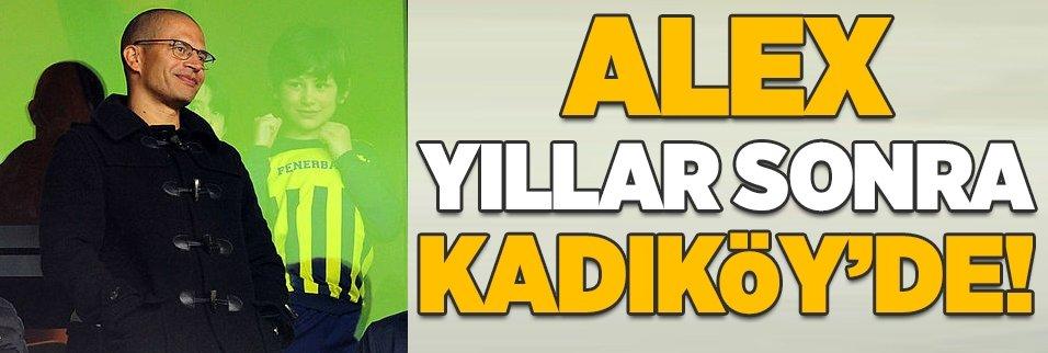 Alex de Souza yıllar sonra Kadıköy'de!