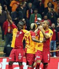 Galatasaray evinde çok farklı! | Galatasaray 5-0 Antalyaspor