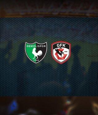 Yukatel Denizlispor - Gaziantep FK maçı ne zaman? Saat kaçta? Hangi kanalda canlı yayınlanacak?