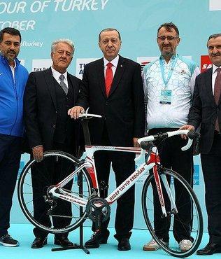 Konya'da Cumhurbaşkanlığı Türkiye Bisiklet Turu heyecanı