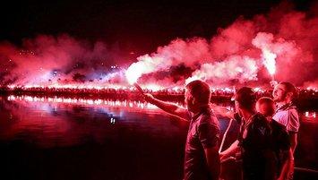 Trabzonspor'da 54. yıl kutlamaları! Meşaleyi Ahmet Ağaoğlu yakacak
