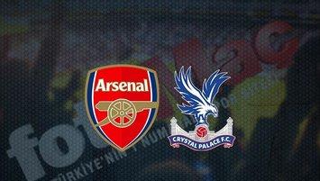 Arsenal - Crystal Palace maçı saat kaçta? Hangi kanalda?