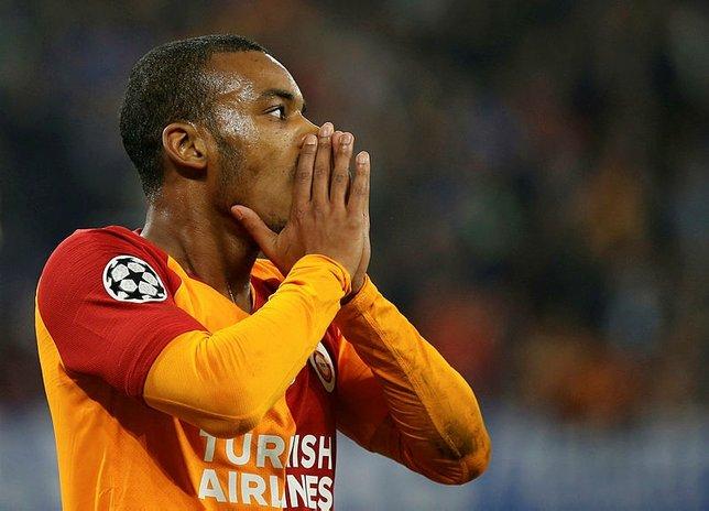 Galatasaray kupa maçı için Ankara'ya gitti